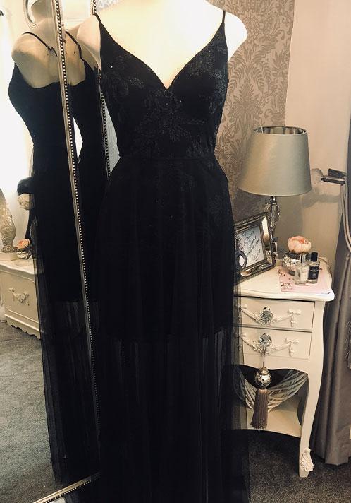 Hayley Paige Dress: 5865 (Long)
