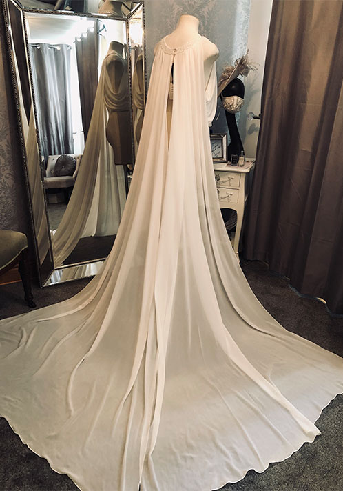 Angel Couture by Kay Heeley Bridal Cape