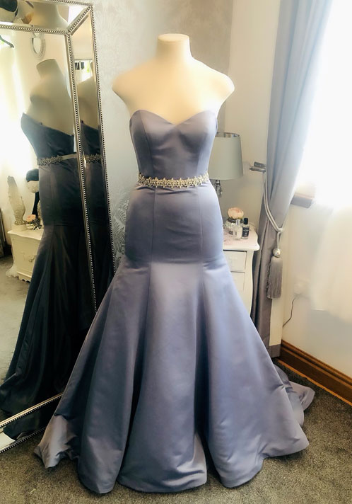 Angel Couture by Kay Heeley Bespoke Lilac Dress