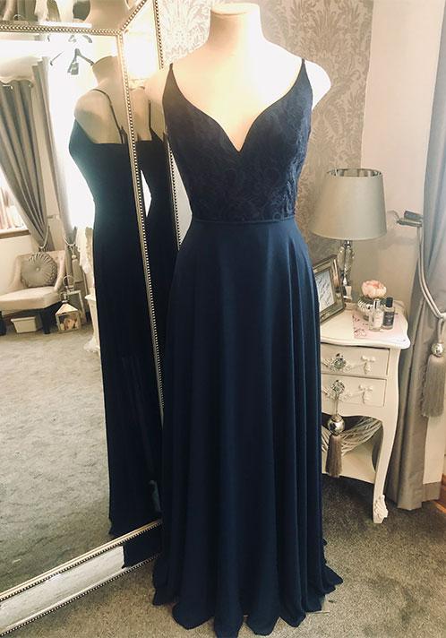 Hayley Paige Dress: 5862 (Long)