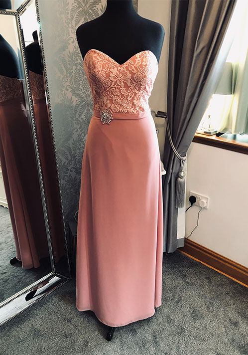 Romantica Pink Lace